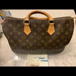 Louis Vuitton Speedy 35 Authentic - Used
